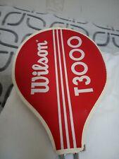 Vintage Wilson T3000 racket