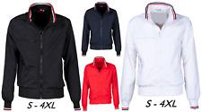 Giubbino giacca uomo leggero classico primavera estate taglie forti XS - 4XL PCF