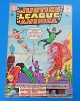 JUSTICE LEAGUE OF AMERICA #24 COMIC BOOK ~ DC SILVER AGE 1963 ~ FN-