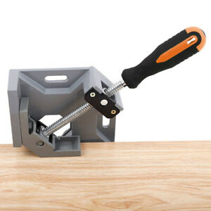 UK 90 Degree Right Angle Clamp Woodworking Corner Clamp Vice Grip Wood Welding