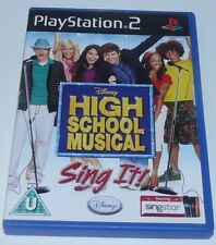 High School Musical - Sing It! - For Sony PlayStation 2