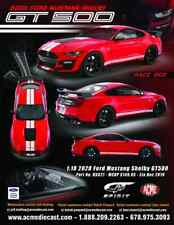 RACE RED 2020 FORD SHELBY GT500 SPIRIT 1:18 SCALE RESIN MODEL - PRE ORDER