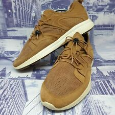 puma mens ignite blaze trainers size 8 brown suede sneakers shoes eu 42