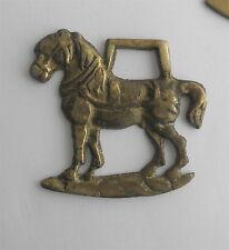 Victorian Brass SADDLE Decoration: Workhorse