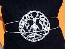 Cernunnos God  Celta Dios Bracelet  Cernunnos Silver plata ley 925 ml Wicca