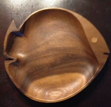 Wooden Fish Snack Dish