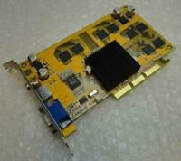 Genuine 64MB PixelView MX440-8X MVGA-NVG18A VGA AGP Graphics Card