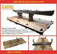 LMG BB-06 Ship building berth for plastic model kits, Laser Model Graving