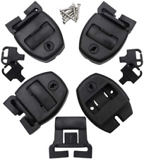 4 Set Hot Tub Spa Cover Locks with Key Pinch Center Release Strap Buckle