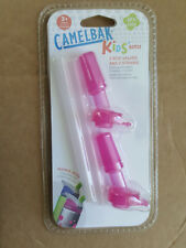 New Sealed Camelbak Kids Bottle Pink Bite Valve & Straw Replacement Parts