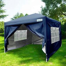 Quictent 8x8EZ Pop Up Party Wedding Tent Canopy Gazebo Navy Blue 100 Waterproof