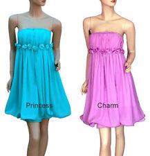 Chiffon Above Knee, Mini Dresses