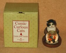 "Comic & Curious Cats ""Spoiled For Choice"" Linda Jane Smith 2002 NEW"