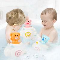 Watering Bath Toys For Baby Hair Wash Tool Rain Cloud Thunder Cloud Animal S