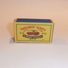 Matchbox Lesney 25 a Bedford 'Dunlop' Van empty Repro B style Box