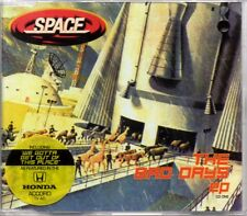 SPACE - THE BAD DAYS [REMIX] - 3 TRACK 1998 CD SINGLE 1