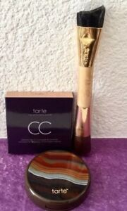 TARTE Colored Clay CC CONCEALER & CORRECTOR *Medium* in Box & DUAL-ENDED BRUSH!