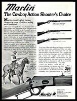 1999 MARLIN 1894, 336 & 1897 Cowboy, Lever-Action Rifle PRINT AD