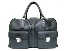 Authentic LOUIS VUITTON Ardoise Taiga Ivan M32502 Boston Bag RI0068