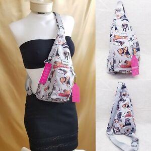 Vera Bradley Best in Show ReActive Mini Sling Backpack Purse Belt Bag Nwt New