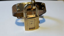 Hermes Kelly Donna Orologio Watch al Quarzo. 20mm. Quadrante in oro 18K GP