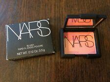 """NARS Blush """"Orgasm"""" 0.12oz/3.5g Travel Size New In Box"""