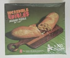 Incredible Edibles: Bread & Cheese Puzzle #1009 1000 Pc. Puzzle