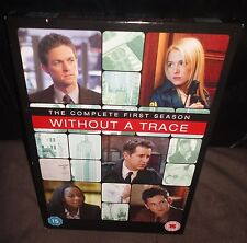 Without A Trace - Series 1 (DVD, 2005, 4-Disc Set, Box Set)