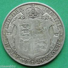 1925 George V Silver Half-Crown SNo23381