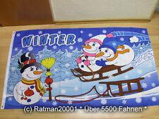 Fahnen Flagge Winter - 90 x 150 cm