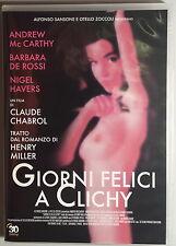 GIORNI FELICI A CLICHY - Chabrol DVD Mc Carthy De Rossi Havers