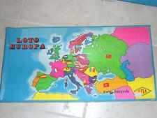 Vintage Greek Boardgame LOTTO EUROPA EPA 80's S/W