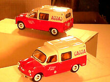 Fiat 600 formichetta van 1964: solido out catalogue/tbe/red