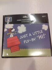 10 Snoopy Jumbo Postcard - NEW!
