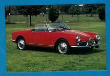 Car Postcard ~ Alfa Romeo Giulietta Spyder - Niccolini of Italy
