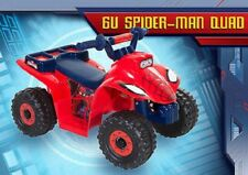 HTF Dynacraft Marvel Spiderman Child Quad Vehicle ATV 6V Powered Ride On Toy NIB