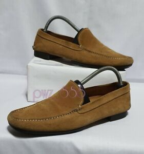 PRADA Suede Loafers Men's Dress Shoes Size 8