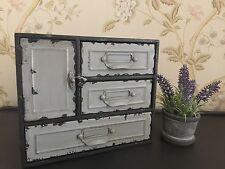 Shabby industriel Chic 3 Tiroir Armoire en Stockage Placard Style Vintage