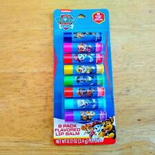 Paw Patrol 8 PACK FLAVORED LIP BALM .12oz NEW Sealed in Package 2019 Spinmaster
