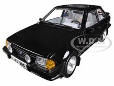 1983 FORD ESCORT XR3i SALOON BLACK 1/18 DIECAST CAR MODEL BY SUNSTAR 4985