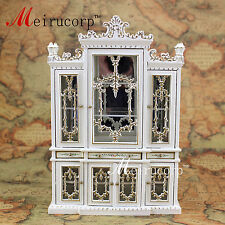 dollhouse 1:12 scale miniature furniture Hand painted Dining room Cupboard
