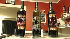 Kiss Celebrity Cellars Ltd Ed Wine 3 Bottle Collection - Etched Gold & Kiss This