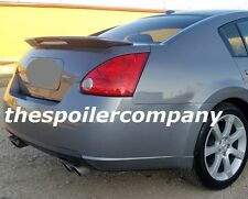 PRE-PAINTED REAR SPOILER FOR 2004-2008 NISSAN MAXIMA W/3RD LED BRAKE LIGHT!!