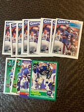 17 Pepper Johnson Rc Rookie Card Lot: 1987 Topps #28 Plus 4 other NrMt/Mint