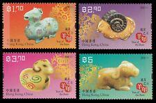 Hong Kong Lunar New Year Ram stamp set MNH 2015