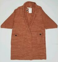 New with Tags Simply Noelle Women's 3/4 Sleeve Pocket Cardigan Small/Medium