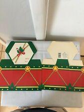 Vintage 1980s Hallmark Gift/Treat/Cookie Cardboard Boxes New