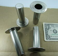 4 McCue Non-Magnetic Stainless Steel Caps, Bearing Parts, Spools, Plugs, Rollers