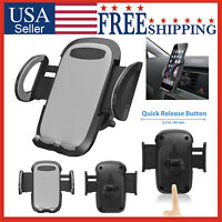 Cell Phone Car Air Vent Mount Cradle Holder Stand 360 Rotation Universal 🔴🔴