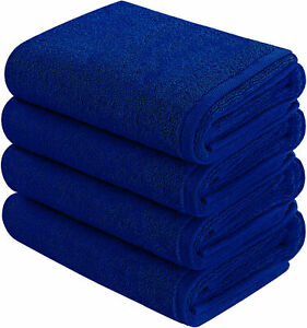 6 Pack - 16 x 28 Inches Premium Large Hand Towels 700 GSM 100% Cotton